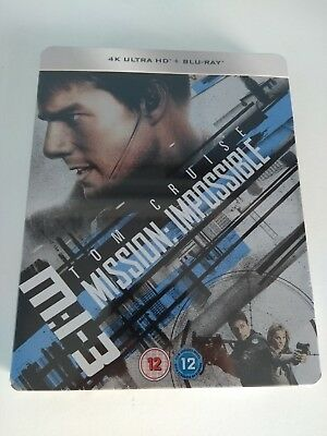 Mission Impossible 3 Limited Edition Steelbook 4K UHD Blu-ray + BD