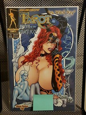 Tarot: Witch of the Black Rose #45 (BroadSword Comics, Cover A, 2007)