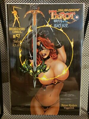 Tarot: Witch of the Black Rose #51 (BroadSword Comics, Cover B, 2008)