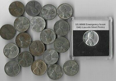 Rare Very Old WWII US Collection Lincoln Penny USA WW2 World War Coin Cent Lot