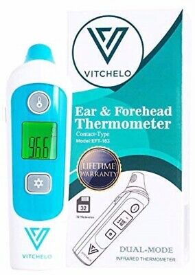 Vitchelo Ear & Forehead Thermometer