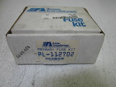 Acme Transformer Pl-112702 Primary Fuse Kit *New In Box*