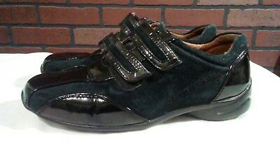 fbaa9effe1 Blondo women's shoes 5.5 black patent/suede leather tennis shoes Canada
