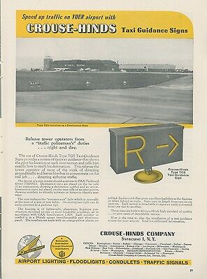 CROUSE-HINDS RUNWAY LIGHTS 20552P-Y-45-Cr Airport Lighting