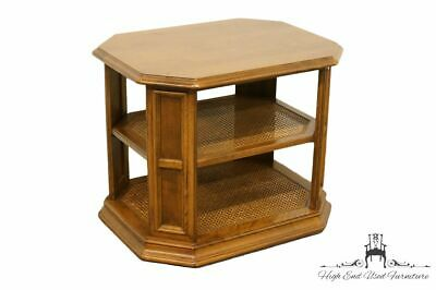 "ETHAN ALLEN Classic Manor 21x27"" Tiered End / Lamp Table"