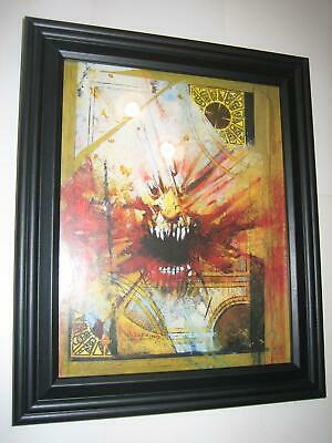 HellRaiser Pin-up FRAMED # 3 Lemarchand's Box by Jorge Zaffino