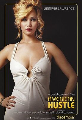American Hustle movie poster - Jennifer Lawrence poster - 11 x 17 inches