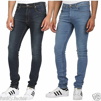 "New Mens Boys Branded Designer Slim Fit Skinny Stretchy Denim Jeans UK 30""-36"""
