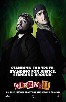 Clerks movie poster - Kevin Smith - 11 x 17 inches - Clerks II poster