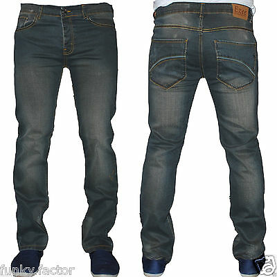 BNWT Mens Boys Branded Mens Straight Regular Fit Denim Jeans Fashion Jeans***