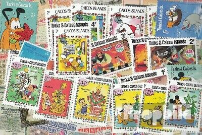 Turks- u. Caicos-Islands 25 different stamps