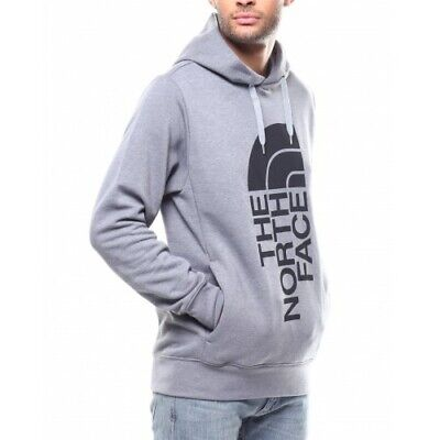 463e28dc3 THE NORTH FACE Mens Trivert Pullover Hoodie- Medium Grey-Large ...