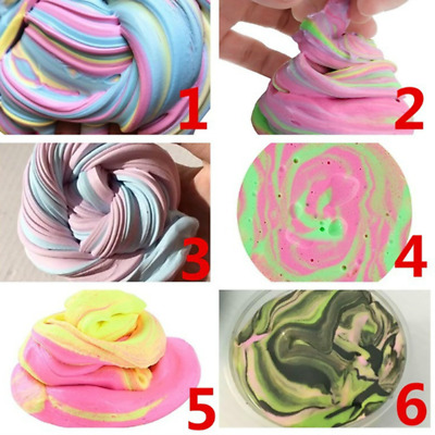 Kids Fluffy Floam Slime Putty Scented Stress Relief Clay Children Toys 1Pcs
