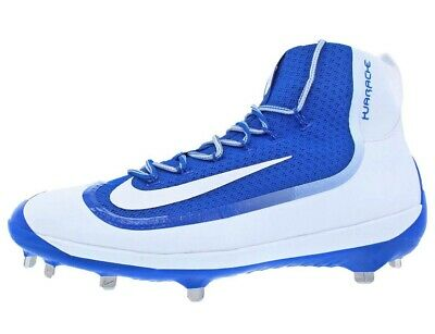 9de43d1318dbe Nike • Huarache 2K Filth Elite Metal Baseball Cleats White Blue 749359-411  Sz 11