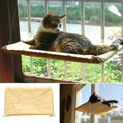 Cat Window Perch Seat Bed Kitten Cot Suction Cup No Tools Required Hammock New