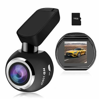 Mini Cámara de Coche Wifi Dashcam HQBKING 1080P video camara para coche con L...