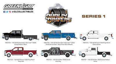 NEW 1/64 Greenlight Dually Drivers Series 1 LOOK Pre-Order NEWEST 46010 WOW