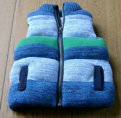 Seed Heritage Boys Knit Puffer Vest Sz 1 - 2 Like New