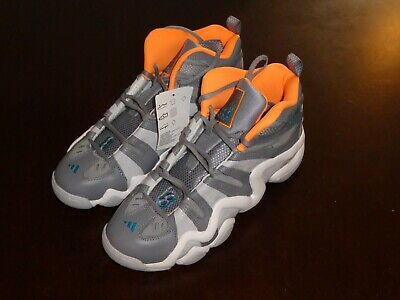 a8a1b16b3 ADIDAS CRAZY 8 D74580 Shoes Sneakers Size 8 new gray white  orange -   135.00