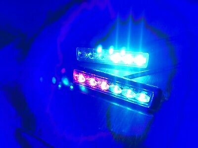 Federal Signal Red/blue Police/fire Ultra Thin Led Light