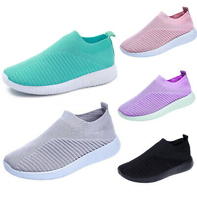 Women Mesh Comfy Trainers Casual Sport Running Sneakers Tennis Shoes Breathable