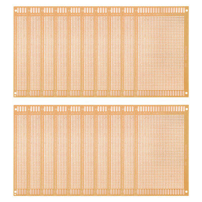 9x15cm Single Sided Stripboard Paper Printed Circuit Board Thickness 1mm 20pcs