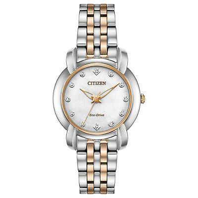 -NEW- Citizen Ladies Jolie Eco-Drive Watch EM0716-58A