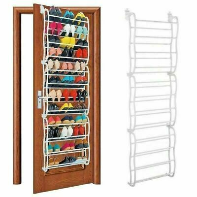 Over The Door Shoe Rack For Wall Hanging Closet Storage Organizer Stand 36 Pairs