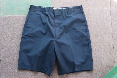Set of 2 Pair of vintage shorts Navy  & White   1970s   // VINTAGE CH200319