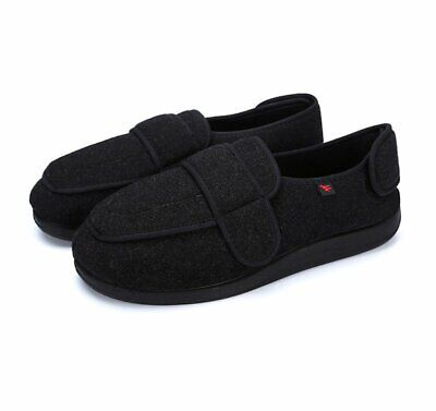 Orthopedic Slippers Diabetic Neuropathy Safety Shoes Extra Wide Sneakers Flat