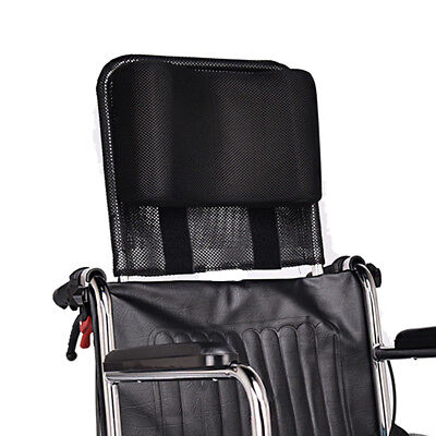 Neck Support Wheelchair Headrest Head Padding Portable Adjustable Cushion Black