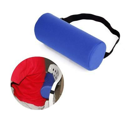 Lumbar Roll Support Pillow Cushion Backrest Spine Thoracic Posture Pain Relief