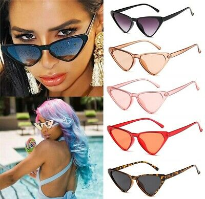 Cat Eye Sunglasses Women Retro Classic Designer Vintage Fashion Shades Eyewear
