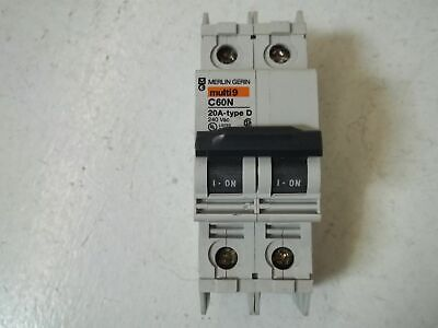 Merlin Gerin 60164 Circuit Breaker 20A *Used*