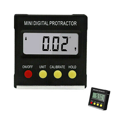 Digital Protractor Electronic 360°Inclinometer Angle Gauge ABS Digital Level Box
