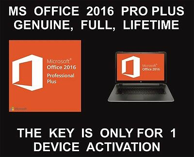 Microsoft Office 2016 Professional Plus 32/64bit Windows Full Version Download
