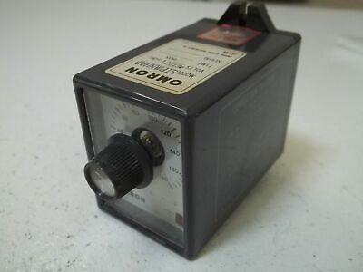 Omron Sptmnhad Time Delay Ac120V *Used*