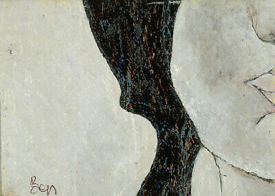 Ben Carrivick - Signed Contemporary Oil, Detail Study