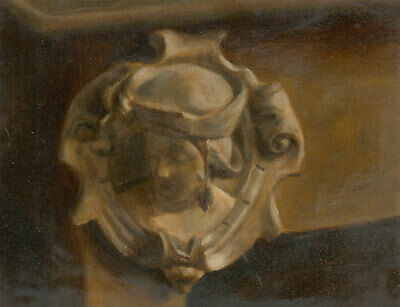 Van Weyenbergh Family Portfolio - Early 20th Century Oil, Marble Relief Roundel