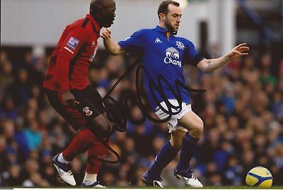 EVERTON: JAMES McFADDEN SIGNED 6x4 ACTION PHOTO+COA
