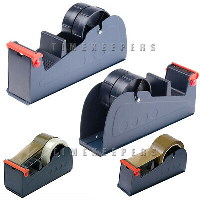 Tape Sellotape Desktop Bench Dispenser Heavy Duty Packing 25 48 50 mm Rolls