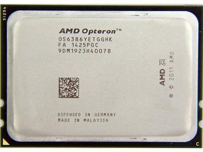 MATCHING PAIR AMD Opteron 6386 SE Server CPU 2.8Ghz OS6386YETGGHK Socket G34