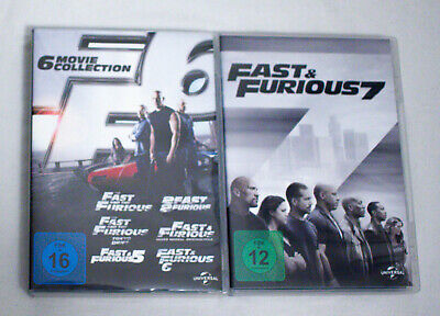The Fast and the Furious 1+2+3+4+5+6+7 [DVD]