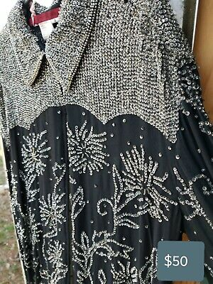 Western Beaded Rodeo Queen Shirt. VERY FLASHY!!