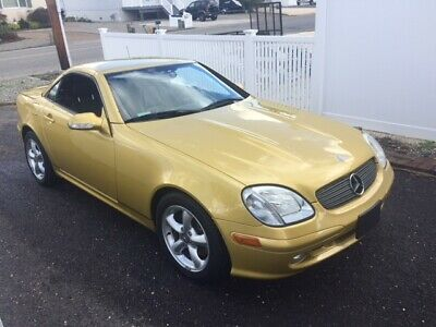 2001 Mercedes-Benz SLK-Class designo gold edition 2001 mercedes-benz slk320 base 3.2l