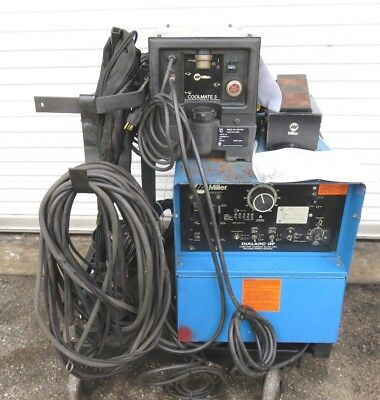 MILLER DIALARC HF WELDER W/ Miller Coolmate 3, KG-35 Foot pedal and Accessary