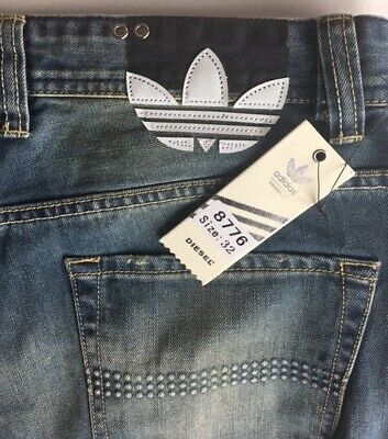 a511eecd RARE DIESEL ADIDAS Viker-Ad Jeans, 32x32, with tag - $81.23   PicClick