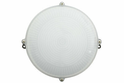 Weatherproof LED Bulkhead Light 12 Watt Natural White 4000K Bulk Head LED Light