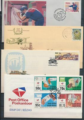 XB50700 South Africa Suid Africa nice lot of FDC's used