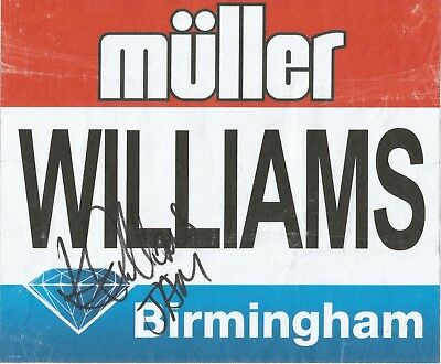 Athletics: Kimberly Williams Signed Birmingham Diamond League 2017 Worn Bib+Coa